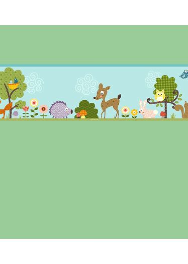 Animal Wallpaper Border - woodland animals wallpaper border wallpapersafari