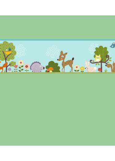 woodland animals wallpaper border wallpapersafari