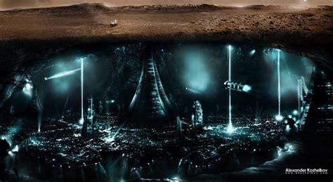 underground city wallpaper