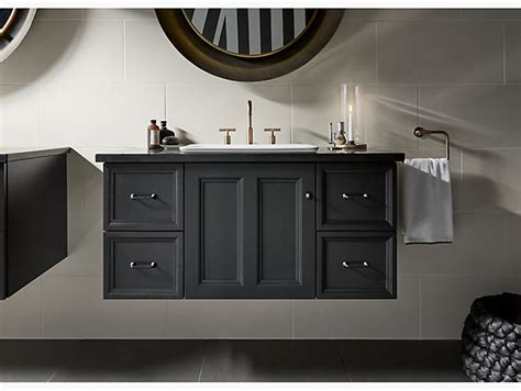 Damask 42-inch Wall-hung Vanity With 1 Door, 4 Drawers Hemnes White Chest Of 5 Drawers Fisher Paykel Fully Integrated Dishdrawertm Dishwasher Dd60di7 Top Drawer Consignment Cedar Rapids Iowa Berlin 2 Bedside Under Bed Frame Diy Small Style Ways To Build Nordli 8 Dresser