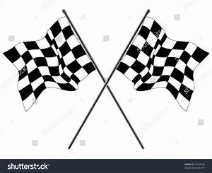 Wavy Checkered Flags Stock Vector Illustration 31248709 ...