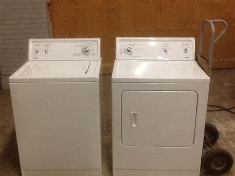 Washer and dryer set by Kenmore Sears Outside Ottawa