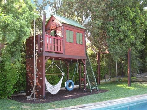 Pictures Of Swing Sets With Climbing Wall  Barbara Butler
