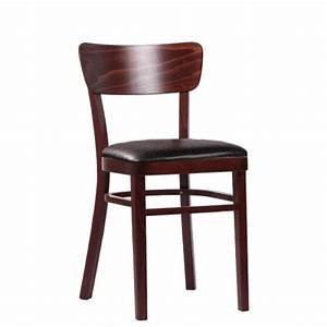 Stühle Aus Holz : gastronomie st hle aus holz mit sitzpolster holzst hle ~ Frokenaadalensverden.com Haus und Dekorationen