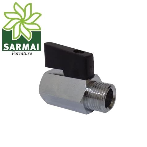 rubinetto compressa rubinetto a sfera maschio femmina mini valvola pneumatica