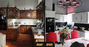 Cuisine Avant Après : relooking cuisines avant apr s relooking cuisine ~ Voncanada.com Idées de Décoration