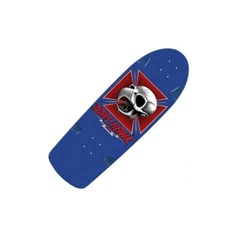 Powell Peralta Tony Hawk Skateboard Decks by Powell Peralta Ltd Bones Brigade Tony Hawk Blue Skateboard
