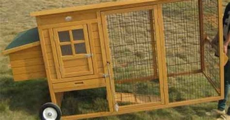 chicken coops  wheels mayfair portable fox proof