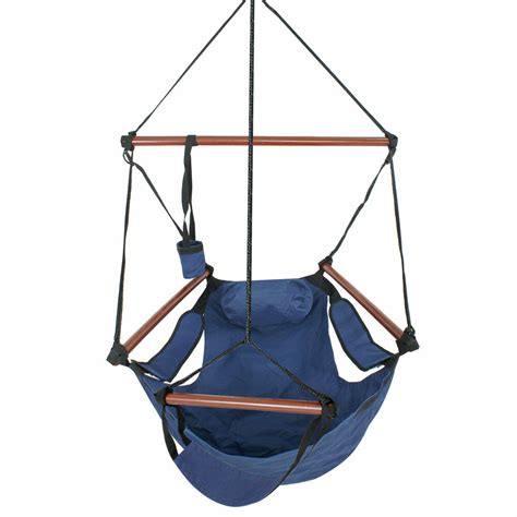 Hammock Air Chair by Hammock Hanging Chair Air Deluxe Sky Porch Outdoor Chair