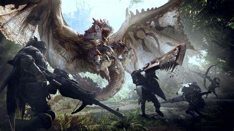 monster hunter world    great step