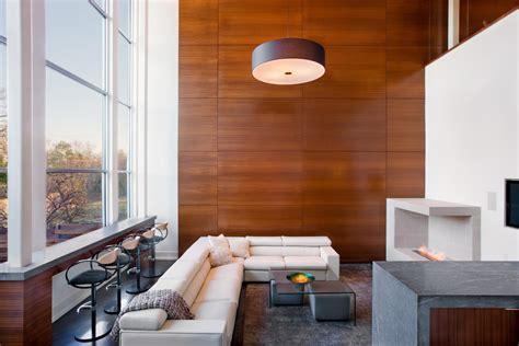 wood walls add warmth to your home