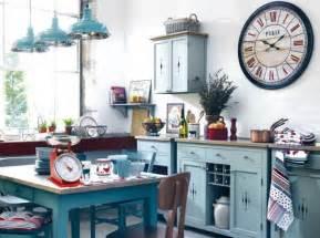 deco cuisine bleu decoration cuisine bleu
