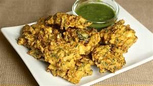 Mixed Vegetable Pakoras Manjula's Kitchen Indian