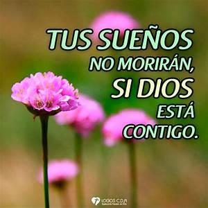 Imagen  Tus Sue U00f1os No Morir U00e1n  Si Dios Est U00e1 Contigo