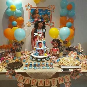 Festa da Moana: Lembrancinhas, bolos, decoração e convites