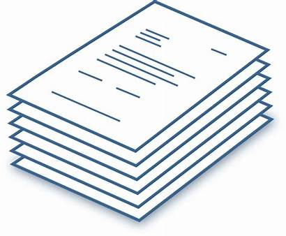 Stack Papers Clipart Clip Documents Clker Svg