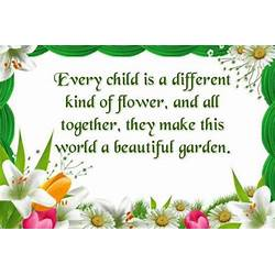 Flower Quotes About Being Different Gardening Flower And Vegetables