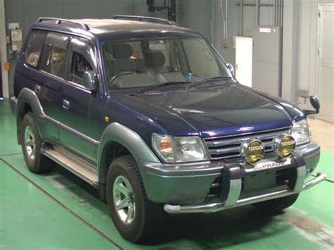 Used Toyota Prado Diesel For Sale In Japan