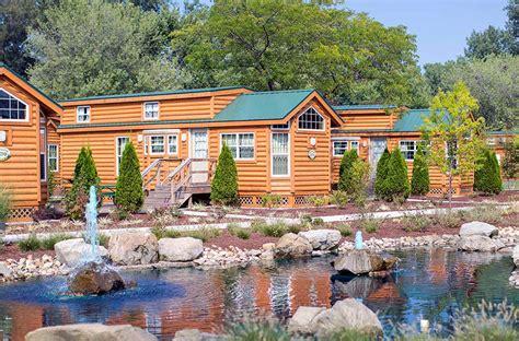 cedar point cabins luxury cing rv cabin cottage rentals