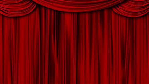 theatre drape high definition clip of an opening stage curtain
