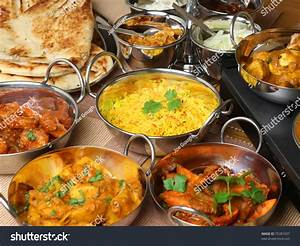 Selection Of Indian Food Stock Photo 75381037 : Shutterstock