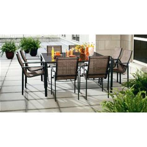 8 Person Patio Table by Essential Garden Eastbrook 8 Person Dining Table Outdoor