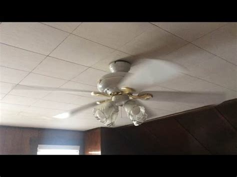 redington iv 52 ceiling fan hton bay redington iv ceiling fan 52 quot 1 of 2 youtube