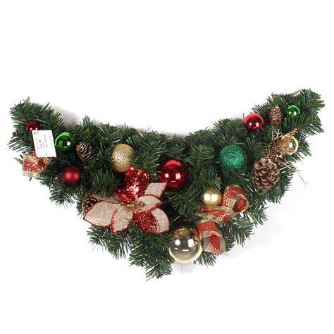 xmas deco swag christmas wreath decorations christmas
