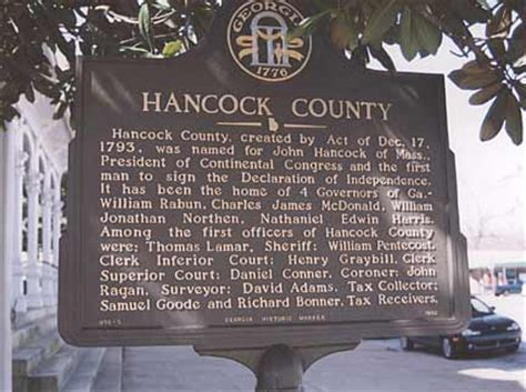 historical markers  county georgiainfo
