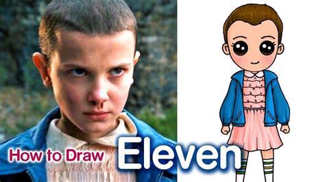 How to Draw Eleven   Stranger Things - YouTube   Stranger ...