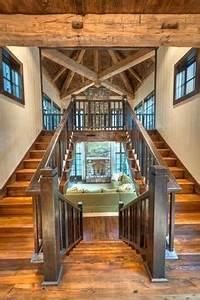 stone and log cabin look Floor Plans Pinterest Hus
