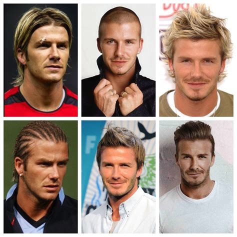 davidbeckham hair history hairstyle evolution