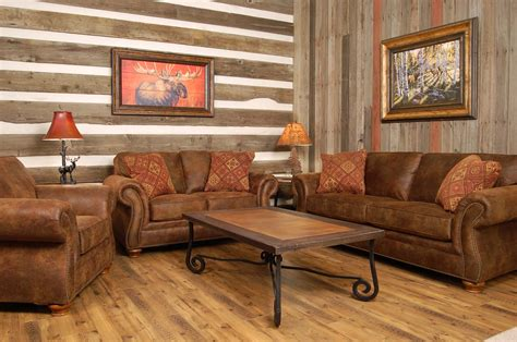 how to make sure your rustic living room furniture is on