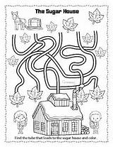 Syrup Maple Activities Freebie Prep sketch template