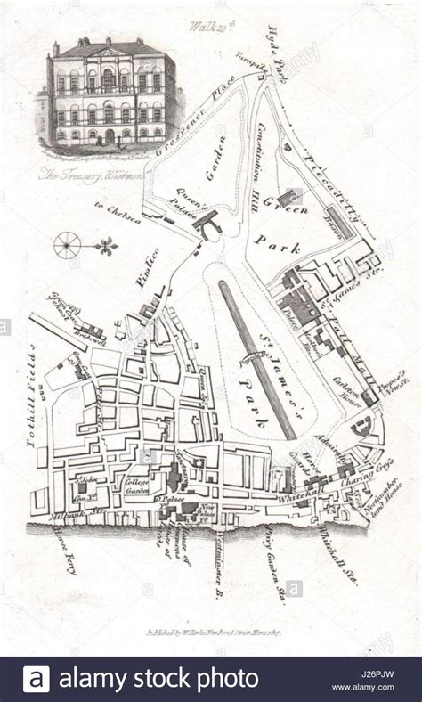 st james palace map