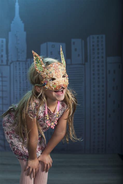 kids halloween costume ideas urban jungle animal masks