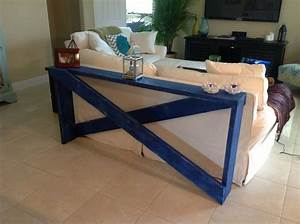 Diy behind the sofa table doin39 that fo sho pinterest for Sectional sofa with table behind