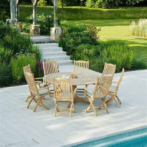 roble folding garden chair by out there exteriors