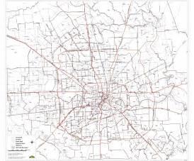 Houston-area Zip Code Map