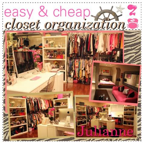 easy cheap closet organization closet organization