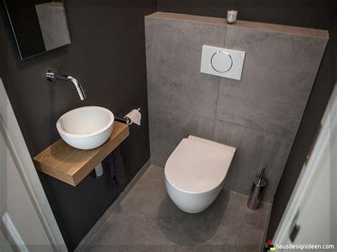 Badezimmer Fliesen Toilette by Sch 246 N Badezimmer Ideen G 228 Ste Wc 13 Kleines Haus Ideen