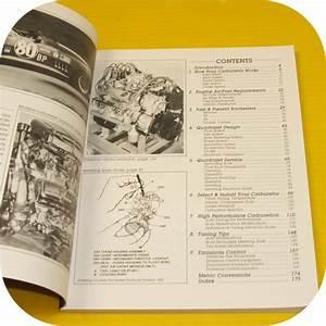 Rochester Carburetors Manual Repair Carb Holley Quadrajet