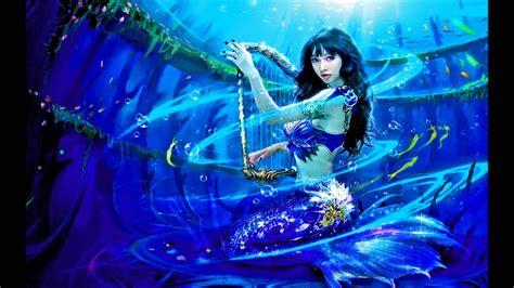Harp-playing Mermaid (ewql Pianos Steinway)