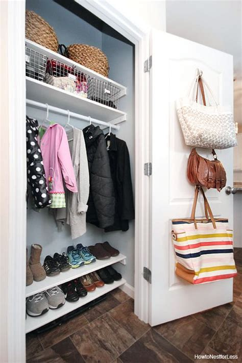 Front Entry Closet Organization Ideas by Let S Get Organized New Series Houses Entryway