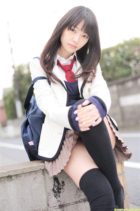 girlz pic haraka andou  cute japanese school uniform