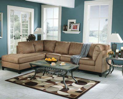 brown and blue living room the best paint color on beige