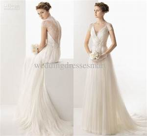 vintage slim a line wedding dresses fashionoahcom With vintage a line wedding dresses