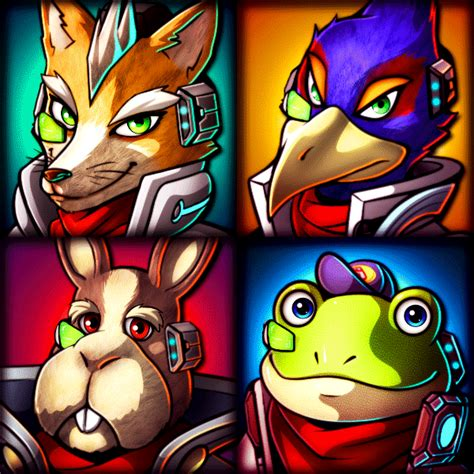 Star Fox Team Free To Use By R No71 On Deviantart