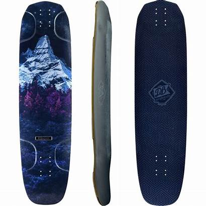 Longboard Longboards Deck Db Skateboard Keystone Grip