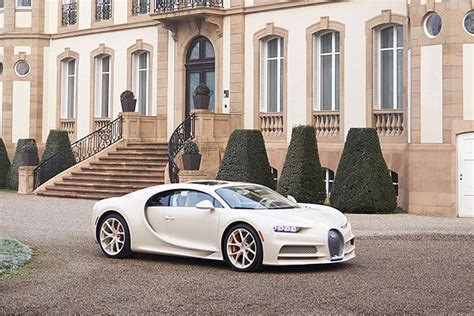 It features special leather from the luxury goods. The Exquisite Bugatti Chiron Hermes Edition Looks Worth ...